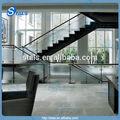 Balustrade en verre en verre balustrade rambarde d'escalier en verre pince en acier inoxydable main courante