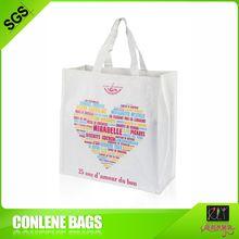 CMYK printing logo made in China pp woven reusable shopping bag