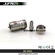 2014 Jufren high quality newest 3D atomizer fit well with stingray mod/hades mod igo w3 atomizer