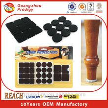 Furniture leg pad, adhesive foam pad