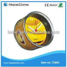 (T2803)hot promotion kitchen Various color desk globe clock