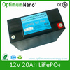 maintain free long lifetime safe lifepo4 12v 15ah lithium ion battery for LED light storage and outdoor advertingsing light