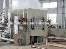 MDF plywood laminate machine, door skin hot press machine