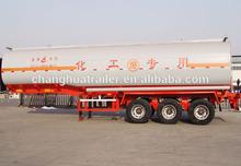 Chemical liquid tanker truck