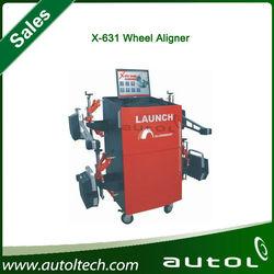 HOT Sale!!! launch x631 car wheel aligner, Launch X-631 3D wheel alignment and balancing machine
