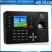 KO-C081 Fingerprint scanner time clock calculator attendance management system