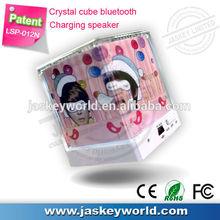 new speaker ,mini cube speaker,music angel speaker with bluetooth