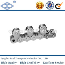 C2050-1LTRF3 pitch 31.75 high speed standard steel double pitch gyro wheels chain attachment