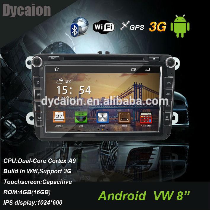 VW car radio with gps bluetooth rear view camera ipod