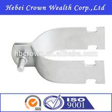 Galvanizado de acero estándar rígida abrazadera de un tubo de Fastenal