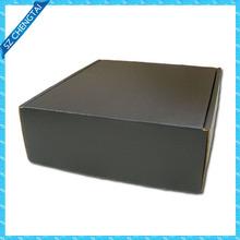 black corrugated shipping boxes,matte black corrugated