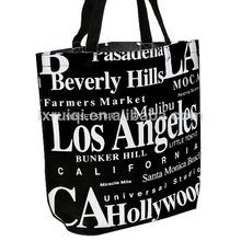 Los Angeles souvenir canvas bag