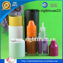 clear e liquids bottles paper tubes child tamper proof cap