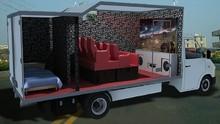 High efficiency mobile cinema equipment 7d interactive game cinema