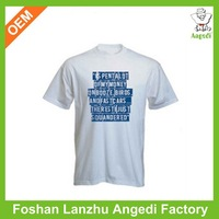 100% combed cotton cheap promotional t shirts