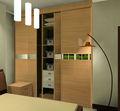 يمول الميلامين الباب 3 تصميم خزانة غرفة النوم الخشبية