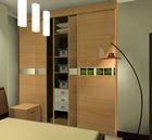 3 door MDF melamine wooden bedroom wardrobe design