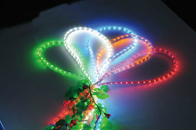 outdoor lighted twig christmas trees china supplier high BrightnessRGB LED Rice Rope Light waterproof
