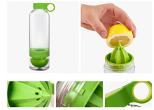 Sedex Approved Factory 100% Food Grade 400-500ml vitality juice source bottle lemon cup