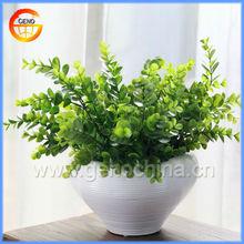 round balcony ceramic planter, flower planter and pot for home decoration