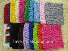 "6"" Girls Crochet tutu tops for tutu dress"
