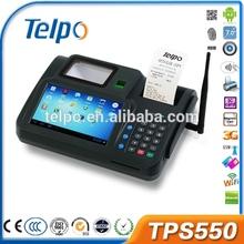 Telpo fingerprint access control system smart card reader Android POS terminal TPS550