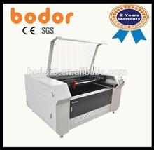 acrylic/ wood/ leather/ fabric/ plastic co2 laser cutting balsa wood machine