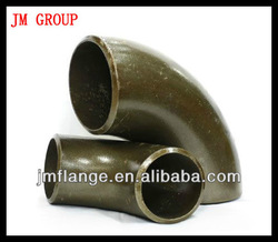 carbon steel pipe fitting forging 90 degree elbow