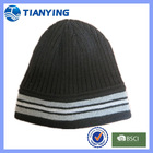 fashion winter acrylic warm designer beanie hat for men