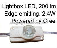 led lights for light box backlighting in led strip lights, powered by CREE 3.0Watt LED, brightness 200~220LM ,IP65