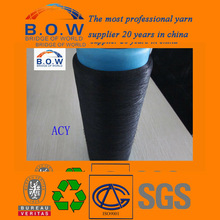 Raw Pattern and Knitting,Weaving Use air jet spun polyester yarn/ spandex cover yarn ACY