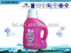 Laundry liquid detergent/liquid bleach