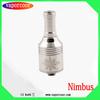 Most popular electronic cigarette free sample free shipping rebuildable nimbus atomizer for sale drip tank nimbus atomizer