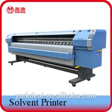 Large solvent print flex machine 10 feet with konica1024/konica512/spectra polaris512/Xaar proton 382 print heads