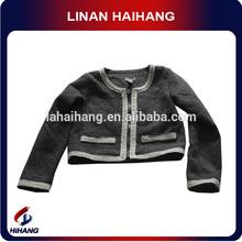 çin sıcak satış yün örgü tığ işi bebek giysileri üreticisi