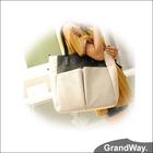 New Design Woman PU Handbags Ladies PU Shopping Hand Bags