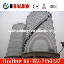 corrugated plate steel grain silo for sale