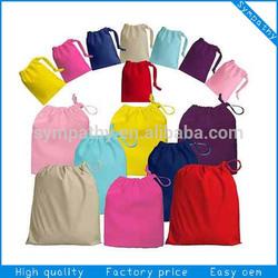 personalized drawstring cotton shoe bag brushed cotton drawstring bag eco cotton canvas drawstring bags
