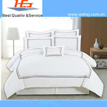 45S Plain Woven Embroidery Duvet Cover/Coverlet