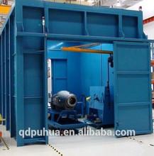 Surface cleaning sand blast room/sand blast chamber/sand blast cabinet