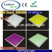 2014 Wholesale New High lumen China office 600X600 Build LED Light Panels 40W CE&ROHS 3years warranty