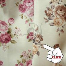 fashion fancy polyester decoration kitchen cafe curtain sale