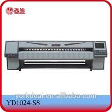 3.2Meter banner printer with konica 1024 / konica 512 / Spectra Polaris 512/ XAAR proton 382 print heads
