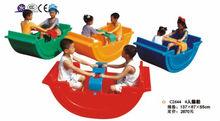 double plastic child rocking toys