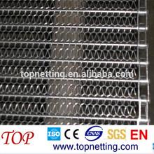 Stainless steel Chain Edge Conveyor Belts