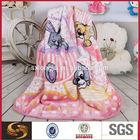 Children Cartoon Sponge Bob Stitch Soft Coral Fleece Blankets