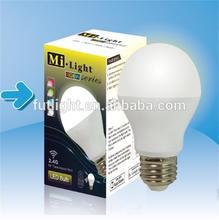 wifi 5w 6w 9w rgb led bulb,e27 gu10 wifi rgbw led bulb,group+timer wifi led bulb