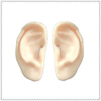Holiday Funny Scary Sticky Toys Human Organ TPR Ears QIMENG Manufacture Factory Welcome Buyers or Distributors Consult toward us