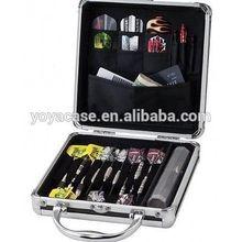 Aluminum Dart Casemaster Case Set Ternion Flights Dart Shafts Pouch Pocket Board