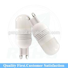 Mini size hot sales g9 led bulb